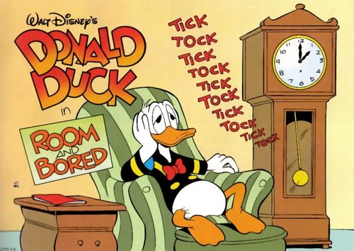 Image result for donald duck bored